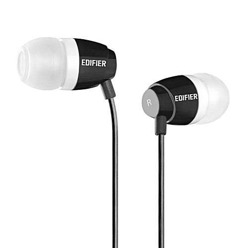 EDIFIER H210 High Quality In Ear Headphones (Black)  SEEDPGAN