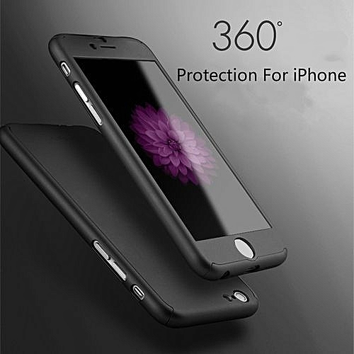 the best attitude f6f4d e21bc 360 Whole Package PC Phone Protective Hard Case Protector(Colour:Pink;for  IPhone 6)