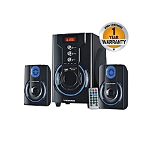MP-42A MULTIMEDIA SPEAKER SYSTEM WITH BLUETOOTH, FM RADIO - Black