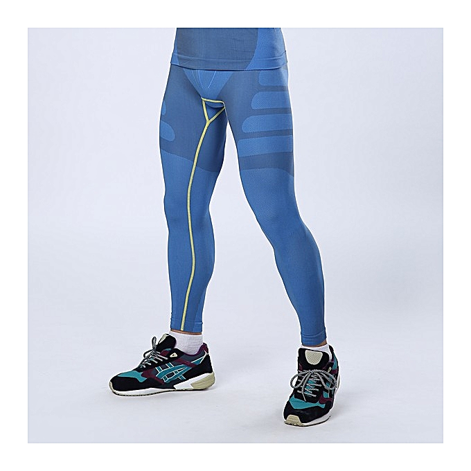 b66609c7d4048 Mens Professional Sports Compression Tights Quick Dry Breathable Sports  Pants Sportswear