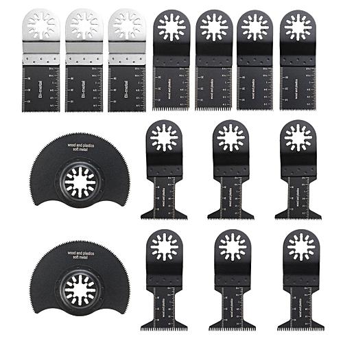15 Multi Tool Oscillating Saw Blades For FEIN MULTIMASTER RIDGID Makita  Bosch