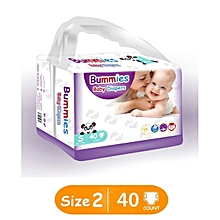 Premium Diapers - Small : Size 2 (3-6 Kg) COUNT: 40PCS