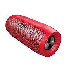S16 Bluetooth Speaker Wireless Subwoofer w/TF Card Slot Mic (Red)