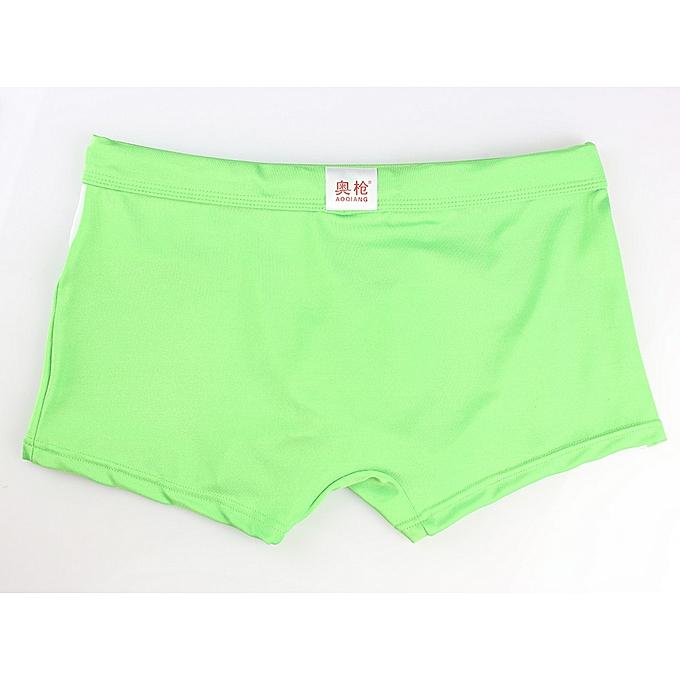 8784586e472a1 Fashion shioakp Sexy Men s Boxer Briefs Swimming Swim Shorts Trunks ...