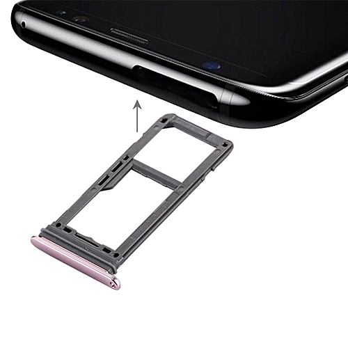 Samsung Galaxy S8 Sim Karte.Ipartsbuy For Samsung Galaxy S8 Sim Card Tray Micro Sd Sim Card Tray Pink