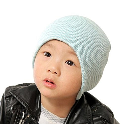 ebf999e53 Baby Beanie Boy Girls Soft Hat Children Winter Warm Kids Knitted Cap BU