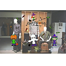 Halloween Decorations shopping mall Bar KTV static Window Glass paste C