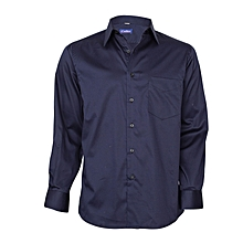 Midnight Blue Long Sleeved Shirt
