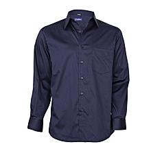 Midnight Blue Long Sleeved Shirt