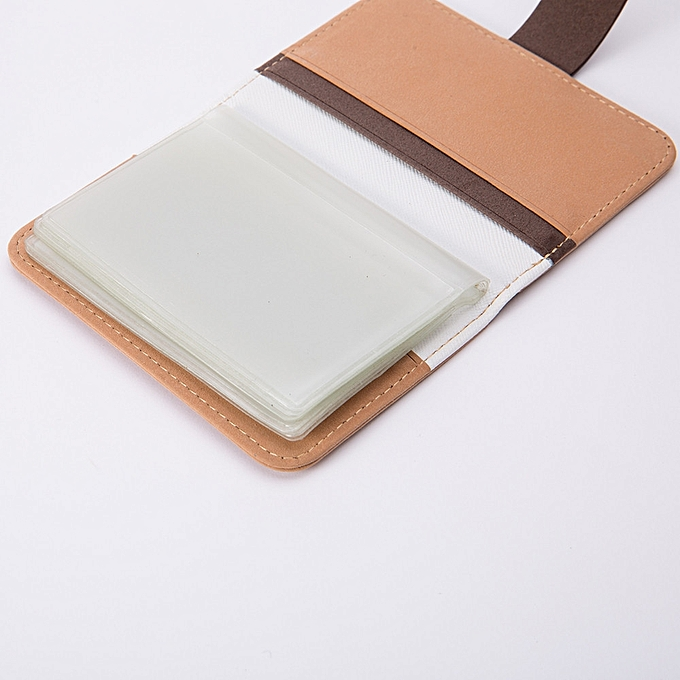 3750b05ee2497 Xiuxingzi Men Women Leather Credit Card Holder Case Card Holder Wallet  Business Card KH