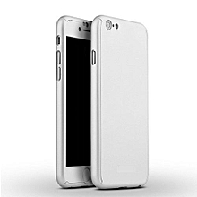 Iphone 6 360° Full Protective Case - Silver