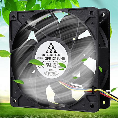 7500RPM Cooling Fan 4-pin Connector Replacement For Antminer Bitmain S7 S9