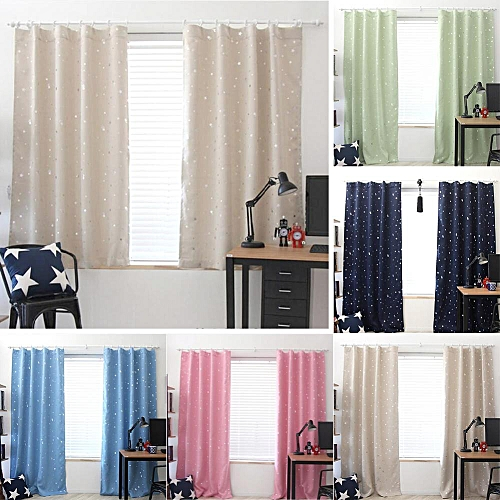 Buy Generic Star Bedroom Curtains For Blackout Window Curtain For