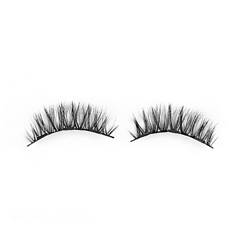 0ebd3864faa Generic 1Set Triple Magnetic False Eyelashes Makeup Handmade Full Coverage  Magnet Eye Lashes Thick Long Fake Eyelashes Extension Make Up(Style 029)