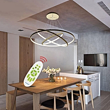 LED Pendant Modern Creative Personalized Art - White