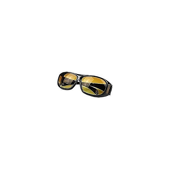 2ad78250c9 Car Fashion Unisex Driving HD Night Vision Wraparounds Sunglasses Fits Over  Glasses as seen