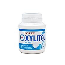 Xylitol Coating Bubble Ice Mint 96g