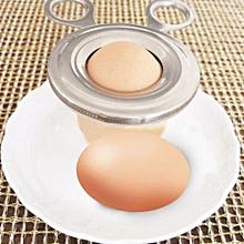 Stainless Steel Boiled Egg Shell Cutter Tool