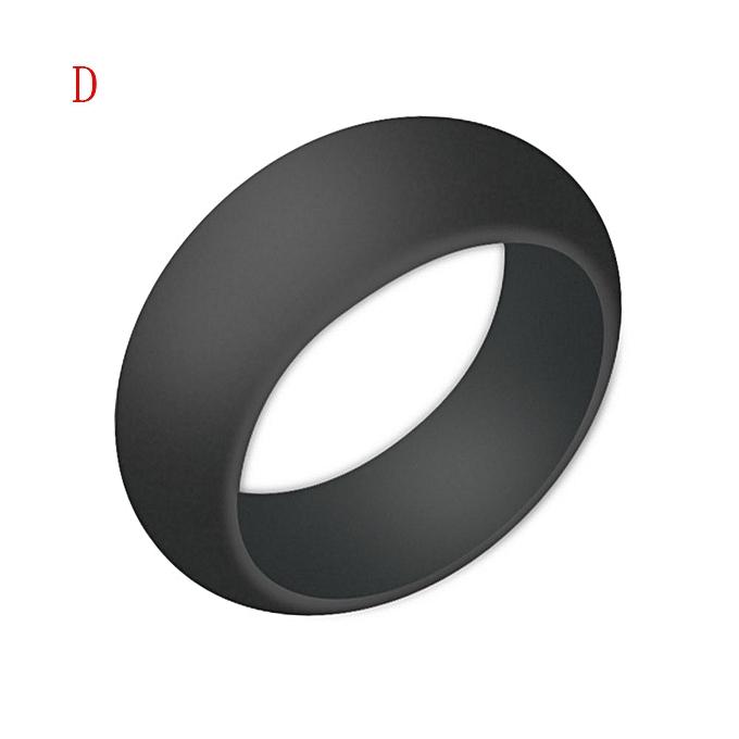 9e848edb87f6e 1X Silicone Wedding Engagement Ring Men Women Rubber Band Outdoor Sport