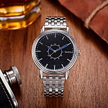 Men Watch Steel Band Wrist Watch Male Quartz Watches