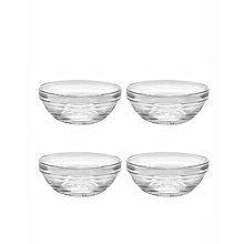 Lys Bowls - Set of 4 - 6cm - Clear