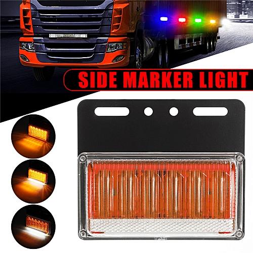 24v Light Led Collision Lamp Waterproof Bumper Side Car 108 Front Marker Anti Uk n0OPkw8X