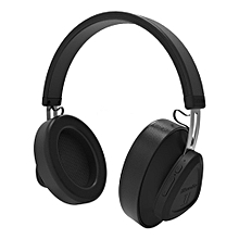 Bluetooth 5.0 Headphones Over Ear Headset Voice Control Stereo Music Earphone Supports Alibaba & Amazon Intelligent Cloud Service with Mic