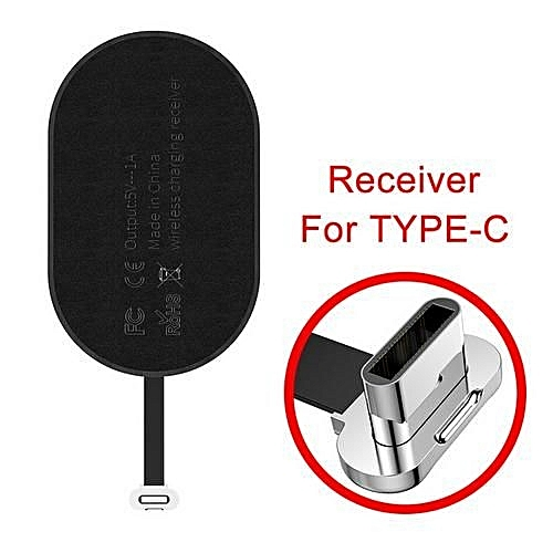 Generic Type C Qi Wireless Charger Receiver For Huawei Samsung