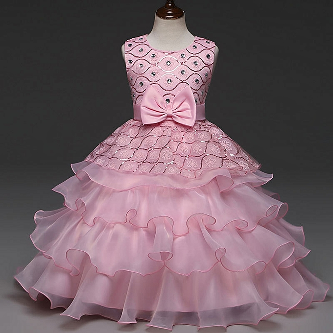 Anniversary Sales - Buy Fashion Girl Dress Floral Baby Girls Dresses ...