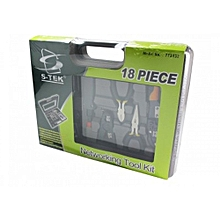 18pcs Computer & Network Tool Kit