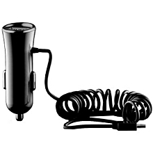 Smart Plus Car Charger with Micro USB Cable, Black