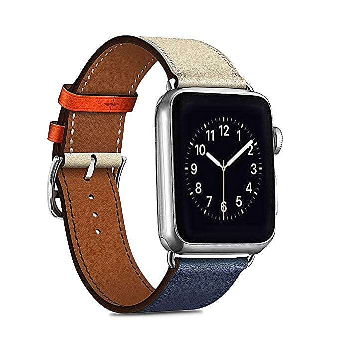 Compatible with Genuine Leather Apple Watch Band Single Tour Replacement  Iwatch Strap Apple Watch Series 4 9c4151f61