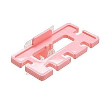 4PCS Adhesive Plastic Toothbrush Rack Home Bathroom Toothpaste Storage Holder Organizer