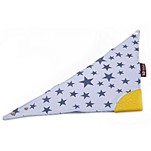 Baby Kids Cotton Feeding Towel Teething Infants Drool Saliva Triangle Bandana