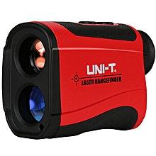 UNI-T LM1500 1500M Laser Rangefinder Distance Meter Monocular Telescope Angle Height Measured