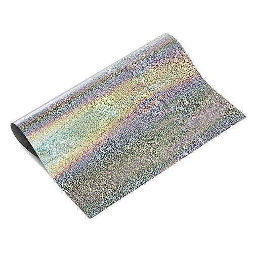 50*50cm Heat Transfer Vinyl Silver For Cloth T-shirt DIY Iron-on Roll