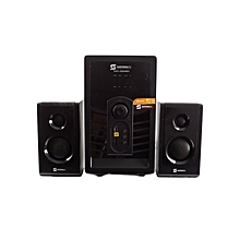 Sub Woofer 2.1 Channel - 8000W PMPO - USB/FM - SHT1004BT  - Black.
