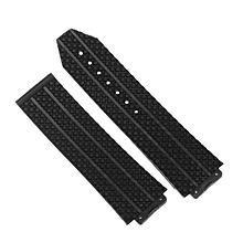 24MM RUBBER BAND STRAP FOR HUBLOT 44-45 H BIG BANG + CLASP MULTI COLOR