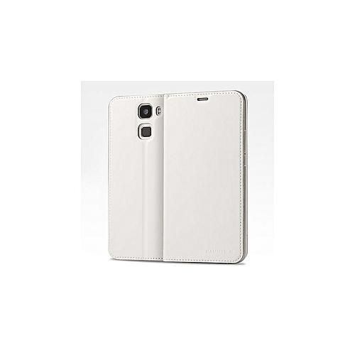 Riginal Flip Cover Protective PU Leather Case Smart Cover - White