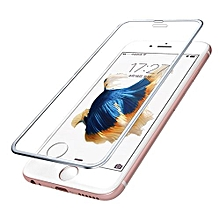 For Iphone 6s Plus 3D Premium Screen Protector Tempered Glass Protective Film-Sliver