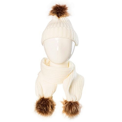 87d16a4f79c Eissely Baby Cute Winter Kids Baby Hats Keep Warm Set Cute Hat Scarf ...