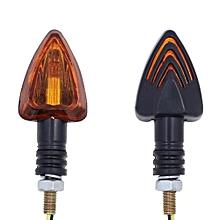 4pc Universal LED Motorcycle Turn Signal Indicators Lights/lamp