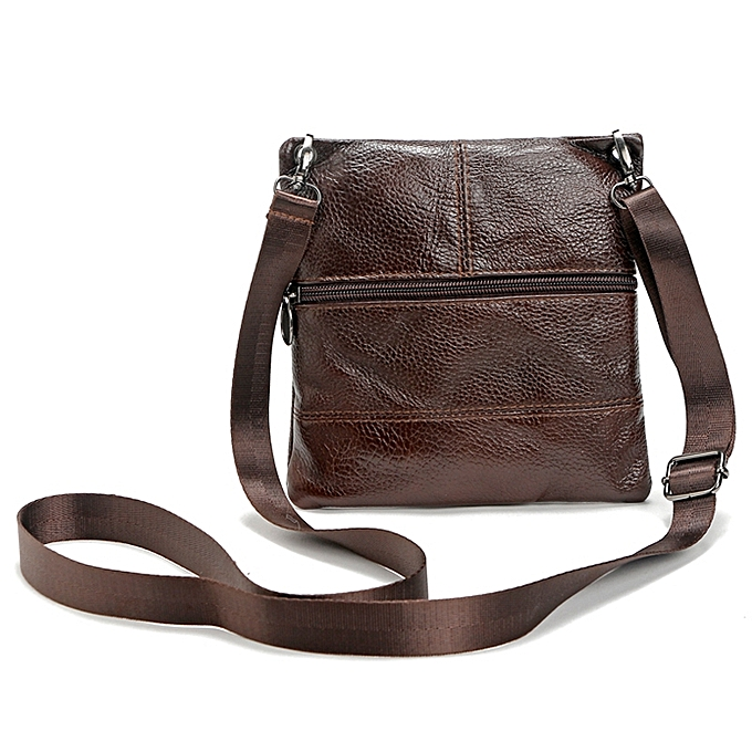 17ac27f87c4e ... Brand 100% Genuine leather men bag Fashion men small shoulder crossbody  bags Thin design Casual ...