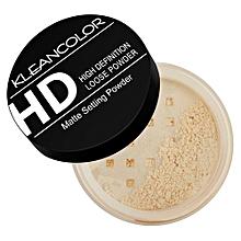 HD High Definition Loose Matte Setting Powder - Light - 7.5g.