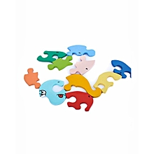 Puzzle - Snake Number - Multicolor