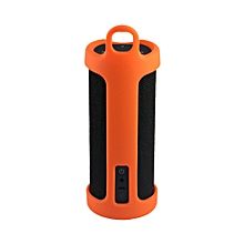 Portable Bluetooth Speaker Carrying Silicone Case Cover Bag For Amazon Tap OR-orange