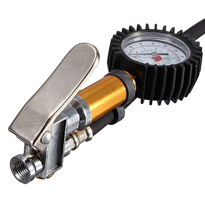 ... Air Auto Motorcycle Truck Tire Tyre Inflating Tool Pressure Dial Gauge 220 PSI ...