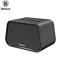 Baseus Bluetooth Speaker Mini Portable Outdoor Wireless Speaker 3D Stereo Music Surround Player (Black) LJMALL