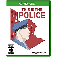 XBOX 1 Game This Is The Police