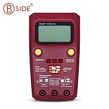 ESR02 Pro Transistor Tester Diode Capacitance Resistance Chip Component Inductance Meter - Wine Red